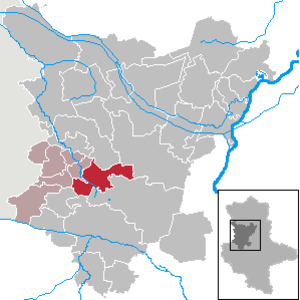 Eilsleben - Image: Eilsleben in BK