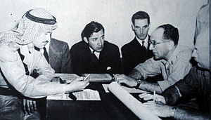 David Shaltiel - One of the meetings between Abdullah el Tell and David Shaltiel