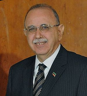 Aftermath of the 2011 Libyan Civil War - Libyan interim Prime Minister Abdurrahim El-Keib