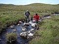 Electrofishing the Uidh Mhich'ille Riabhaich - geograph.org.uk - 1424363.jpg