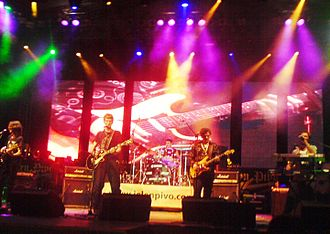 Električni Orgazam - Električni Orgazam performing at the Jelen Pivo Live festival in 2008