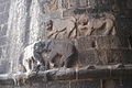 Elephants and lions near main gate, Murud-Janjira.JPG