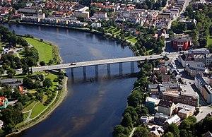 Elgeseter Bridge - Image: Elgeseter bru Trondheim 01