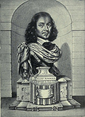 Elias Ashmole - Elias Ashmole by William Faithorne, 1656