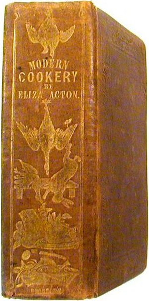 Modern Cookery for Private Families - Cover of 1847 edition