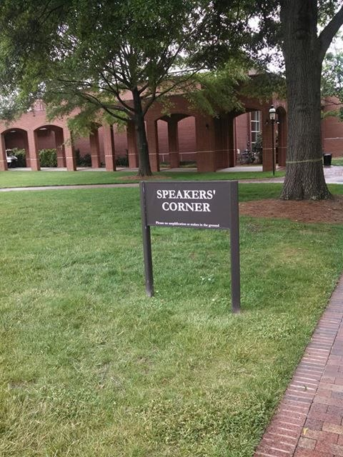 Elon University USA Speakers Corner