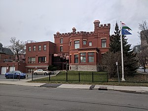 Embassy of Hungary, Ottawa - Birkett House in 2005