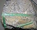Emeralds in pegmatitic granite 3 (37822317935).jpg