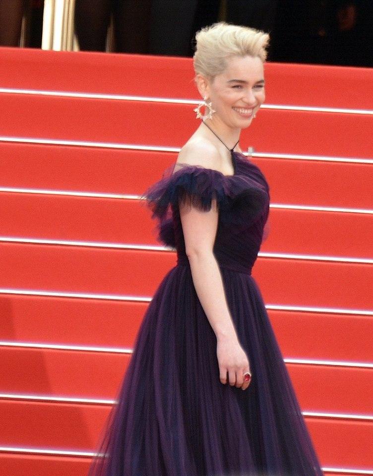 Emilia Clarke Cannes 2018 2