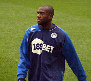 Emmerson Boyce - Image: Emmerson Boyce Wigan Athletic v Birmingham City, 5th December 2009