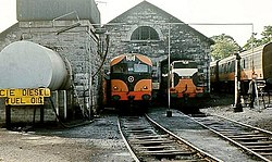 Engine shed, Sligo - geograph.org.uk - 1461369.jpg