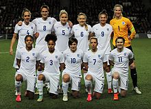 England women s national football team - Wikipedia cd6d384c68