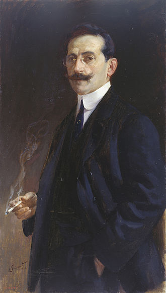 Enrique Simonet - Self-portrait 1918