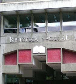 Entrance National Library of Venezuela 1.jpg