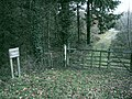 Entrance to Coed Letter - geograph.org.uk - 1093983.jpg