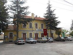 Ereğli railway station - Image: Ereğli Gar View from north