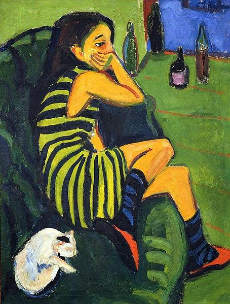 File:Ernst Ludwig Kirchner - Artistin (Marzella).jpg