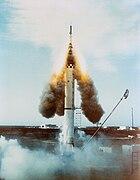 Escape rocket of Mercury-Redstone 1