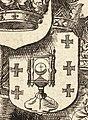 Escudo da Galiza na Parte Orientale della Spagna de Vincenzo Coronelli (1691).jpg