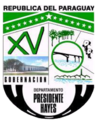 Coat of arms of Presidente Hayes