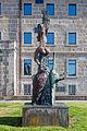 Escultura en Santiago de Compostela. Galiza. Fundición H. Noack de Berlín.jpg