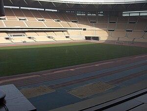 2009 Peace Cup - Image: Estadio Olímpico de La Cartuja, Sevilla