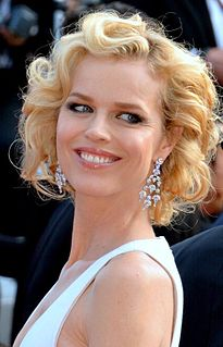 Eva Herzigová Czech fashion model