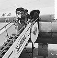 Evacuatie uit Belgisch Congo te Brussel vliegveld Zavente, Bestanddeelnr 911-3492.jpg