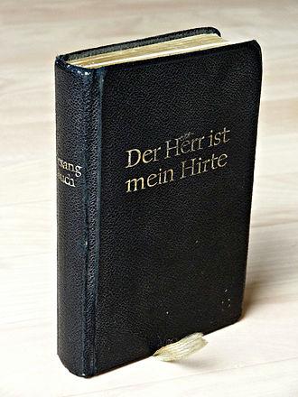 Evangelisches Kirchengesangbuch - Der Herr ist mein Hirte, Evangelisches Kirchengesangbuch for the Protestant Church in Hesse and Nassau, 1962
