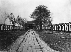 Civil service - Imperial Civil Service Examination hall with 7500 cells in Guangdong, 1873