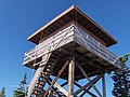 Exterior of Indian Ridge Lookout Tower, Willamette National Forest (33633217534).jpg