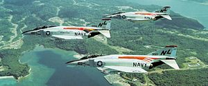 VF-51 - F-4Bs in the 1972 Screaming Eagle paint scheme
