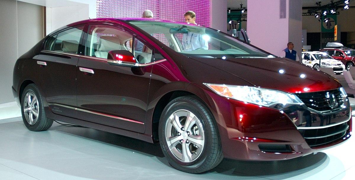 Honda FCX Clarity - Wikipedia, la enciclopedia libre