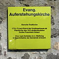 FFM Praunheim Auferstehungskirche Infotafel.jpg