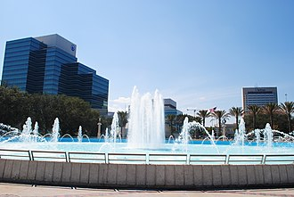 Friendship Fountain - The newly renovated Friendship Fountain in 2011