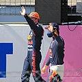 FIA F1 Austria 2021 Post Qualifying Scene Red Bull Drivers 2.jpg