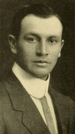 Frank Mount Pleasant - Mount Pleasant pictured in Instano 1912, Indiana Normal yearbook