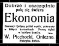 Fabryka świec W. Piechocki, Gniezno.png