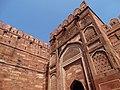 Facade of Agra Fort - Agra - Uttar Pradesh - India - 02 (12612881663).jpg