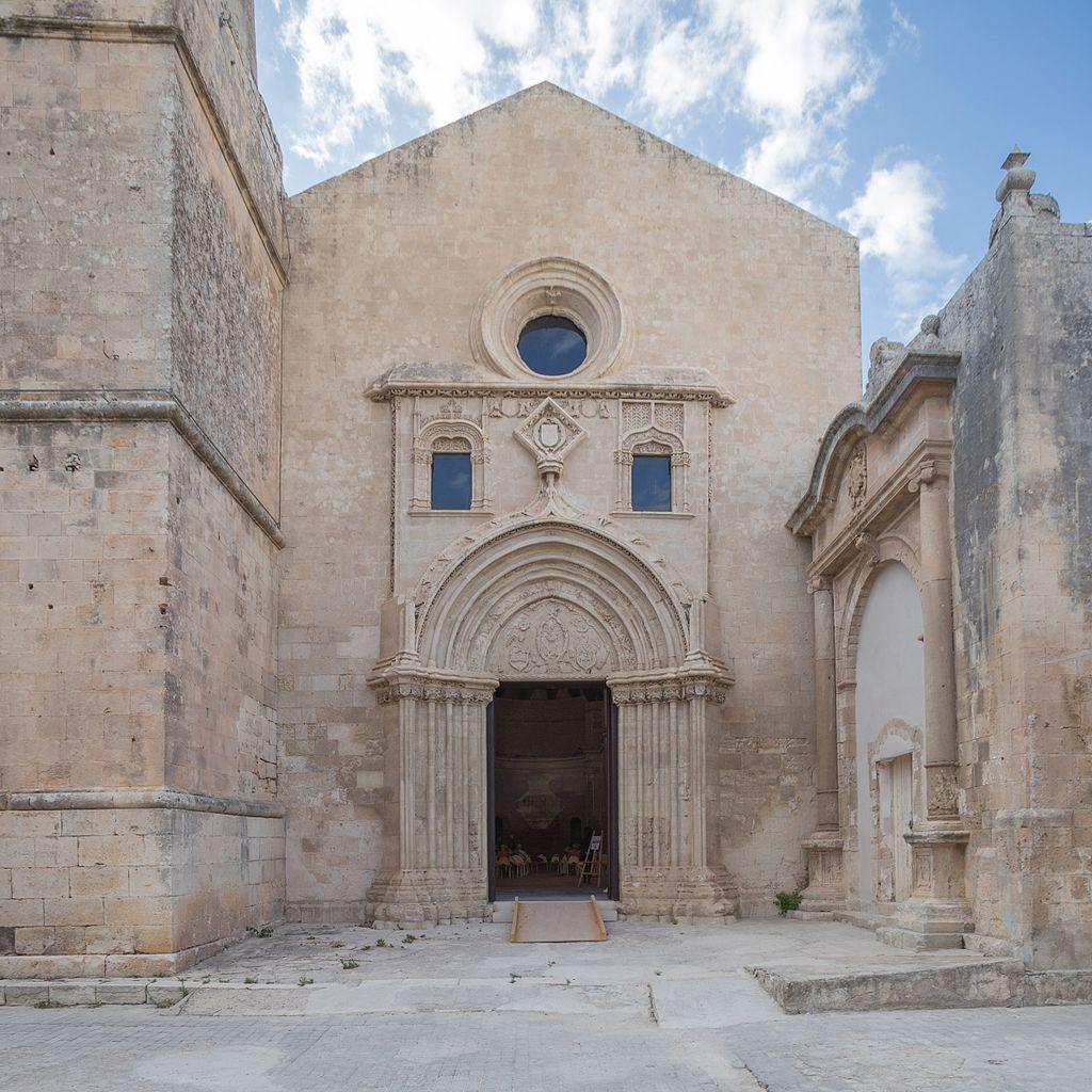 Facciata della chiesa di S. Maria del Gesù (Modica).jpg