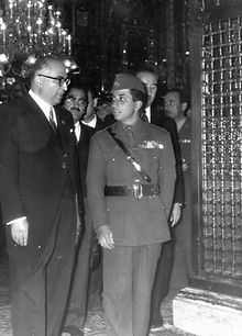 Faisal II of Iraq - Mashhad - Holy Shrine of Imam Reza (2).jpg