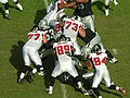 Falcons on offense at Atlanta at Oakland 11-2-08 16.JPG