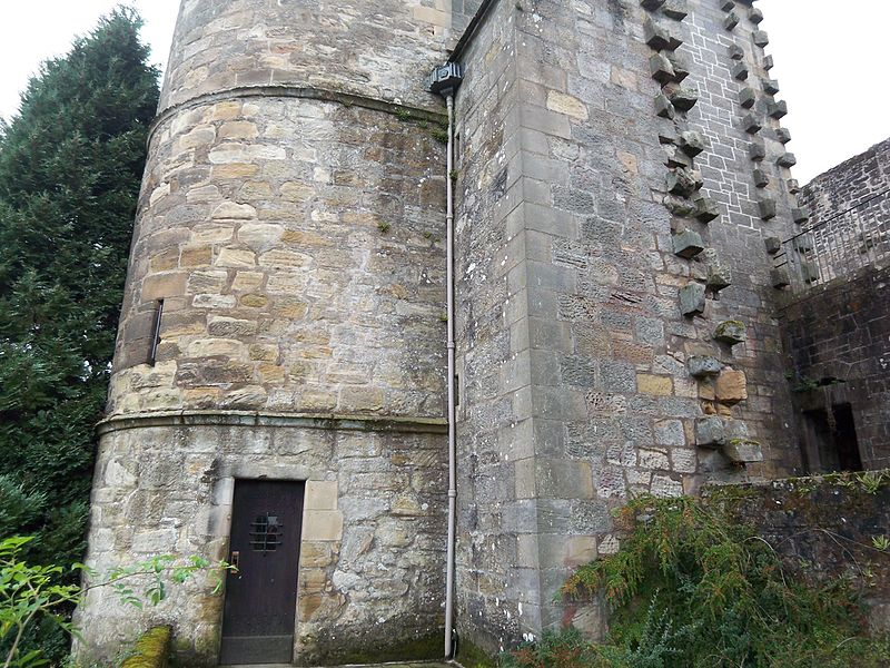 File:Falkland Palace - an Internal Tower.JPG