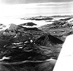 Falling Mountain and Mount Katmai, peaks in the Falling Mountain area, August 26, 1969 (GLACIERS 7074).jpg