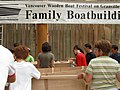Family boatbuilding at the Wooden Boat Festival (2810756283).jpg