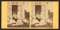 Family posing at the doorway, from Robert N. Dennis collection of stereoscopic views 2.png