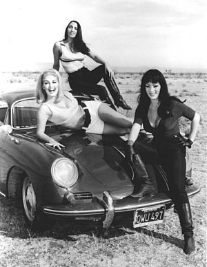 Russ Meyer - Promotional shot for Faster, Pussycat! Kill! Kill!