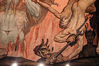 Federico zuccari, inferno, 1574-79, 05 diavolo 2.JPG