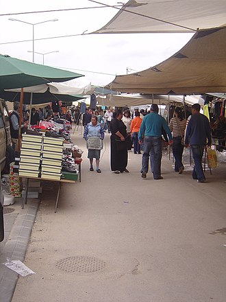 Louriçal - Image: Feira Semanal Louriçal