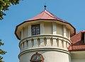 Feldkirchen Amthofgasse 5 Amthof SW-Turm Bekrönung und Dach 02082018 6051.jpg